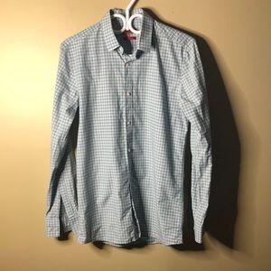 Hugo boss button up long sleeve shirt